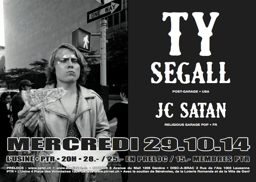 Ty Segall - flyer - copie