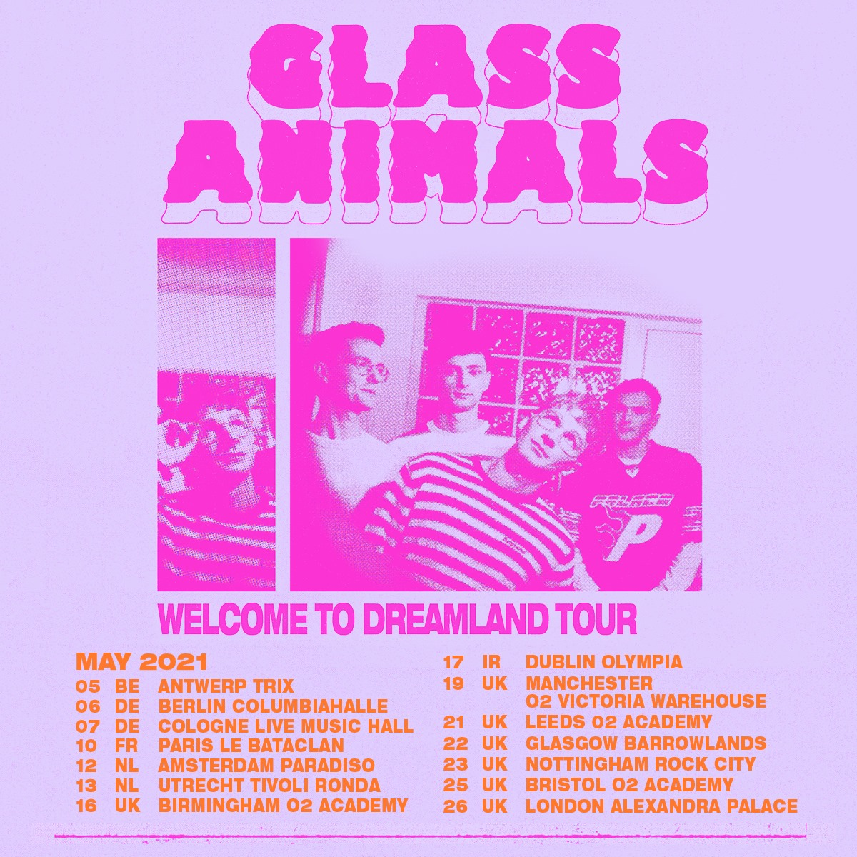 Glass Animals : nouvel album le 7 août et un concert en France ...